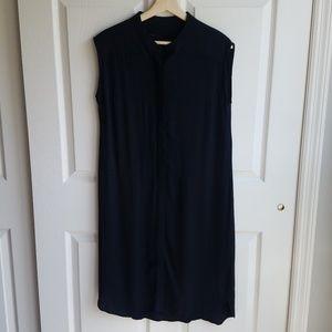 Just Female Black Nebel Shirt Dress Size Medium